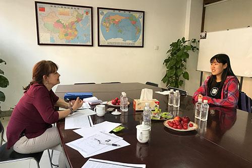 Persönliches Interview in China